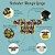 Babador Regata Nylon Impermeavel Botao - Rosa Chiclete - Carina Tomida - Imagem 2