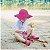 Chapéu de Banho Infantil com FPS +50 - Rosa Pink - Iplay - Imagem 2