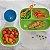 Conjunto com 2 pratos com divisórias Azul e Verde (Splash Toddler Divided Plate) - Munchkin - Imagem 4