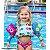 Bóia Colete Infantil Cílios - 10 a 20 kg - Panda Pool - Imagem 5