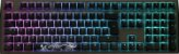 Teclado Mecânico Ducky Channel Shine 7 Gunmetal RGB Backlight Cherry Blue - Imagem 5