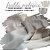 Tecido Melton + Microsoft para Fralda Ecológica cor Branco e Cinza - Imagem 1