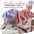 Tecido Melton + Microsoft para Fralda Ecológica 30cm X 1,40m cada Rosados - Imagem 1