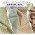 Tecido Melton + Microsoft para Absorvente Ecológico Tons Algodão e Polvilho - Imagem 1