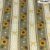 Tricoline Girassóis Rendado Castanho 50cm x 1.50m largura - Imagem 1