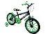 Bicicleta  Gool Bike Kid Boy Aro 16 infantil com rodinhas- Verde - Imagem 1