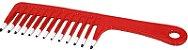 Pente Plástico Especial AQUA - Vermelho - Santa Clara - Imagem 2