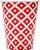 Copo de Papel 240ml Vermelho Cereja (16 unidades) - Imagem 1