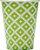 Copo de Papel 240ml Geométrico Verde (16 unidades) - Imagem 1
