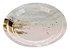 Prato de papel - Mármore Rosa e Dourado (10 un) - Imagem 1