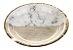 Prato de papel - Mármore e Dourado (10 un) - Imagem 1
