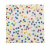 Guardanapo de papel Confetes coloridos - 33cm (20 un) - Imagem 1