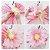 Flores de Papel 30 cm - Cinza e Rosa (3 unidades - Desmontadas) - Imagem 3