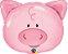 """Balão metalizado - Porco Rosa 30"""" 58x51 cm (unidade) - Imagem 1"""