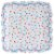 Prato de papel bolinhas multi cores - Meri Meri (12 unidades - 18cm) - Imagem 3