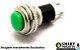 Chave botão DS-316  2 terminais SEM trava verde - Imagem 1