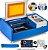 Máquina Router Laser Fk3020 Corte E Gravação 30x20cm 40w - Imagem 1
