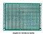Fenolite Placa de Circuito Impresso Ilhada - 5x7 cm - Imagem 1