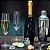 Jogo 6 Taças Champagne Cristal Bohemia 220ml Titanium - Imagem 5