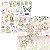 Bloco Colorfull 30,5x30,5 Carina Sartor - Meio Kit - Imagem 1