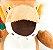 Mordedor Pet Pelucia Safari Leãozinho 31cm AZPR - Imagem 3