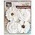 Flores Artesanais branca Pct 4 unidades 13383 Toke e Crie - Imagem 2
