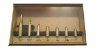 Coleção de Réplicas de Munição de Metralhadora Revolver e Pistola Com Expositor Exclusivo - Imagem 1
