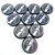 10 Botões - Acrílico Cristal 49mm - Vasco - Imagem 1