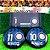Time De Futebol De Botão - Vidrilha 45mm - Clubes Italianos - Imagem 6