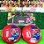 Time De Futebol De Botão - Vidrilha 45mm - Clubes Colombianos - Imagem 9