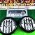 Time De Futebol De Botão - Vidrilha 55mm - Atlético-MG - Imagem 2