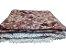 COLCHA CHENILLE CANELADA VALENTINA COM FRANJA 2,20x2,40m VINHO-  JOLITEX 6147 - Imagem 1