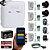 Kit Alarme Residencial Conexão Internet Wireless 4 Sensores Completo - Imagem 1