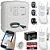 Kit Alarme Residencial Comercial Externo Com Discadora GSM 2 Sensores Duplos - Imagem 1