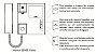 Unidade Interna Video Porteiro HDL Extensão Monitor Sense Classic - Imagem 4