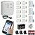 Kit Alarme Residencial GSM Sem Fio Chip ECP 13 Sensores Alard Max 4 - Imagem 1