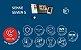 Vídeo Porteiro Eletrônico HDL Sense Seven S Com Função Siga-me e Alarme - Imagem 8