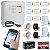 Alarme Residencial GSM Chip 10 Sensores Sem Fio, 2 Controles, 2 Sirenes e Bateria - Imagem 1