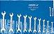 Jogo de chaves fixas 1/4 a 1.1/4 - 8 peças - GEDORE - Imagem 1