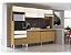 Cozinha compacta 10 portas e 3 gavetas - Creta - Casamia - Imagem 1
