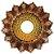 Prato JN Hookah Artemis - Bronze / Dourado - Imagem 1