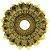 Prato JN Hookah Persia - Dourado  - Imagem 1