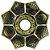 Prato EBS Lotus - Dourado Envelhecido - Imagem 1