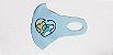 Mascara Neoprene Azul - Imagem 2