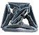 Cabide Plástico Chato Preto - 10 unid - Imagem 2