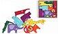 Monte e Empilhe Safári - Brinquedo de Montar e Empilhar Animais - Imagem 6