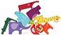 Monte e Empilhe Safári - Brinquedo de Montar e Empilhar Animais - Imagem 1
