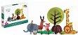 Quebra-cabeça infantil de animais selvagens - quebra-cabeça 3d - Imagem 2