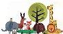 Quebra-cabeça infantil de animais selvagens - quebra-cabeça 3d - Imagem 1