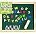 Lousa infantil educativa para giz e caneta com letras magnéticas - Imagem 2